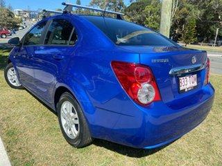2013 Holden Barina TM MY13 CD Blue 5 Speed Manual Sedan