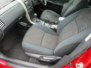 2007 Toyota Corolla ZRE152R Ascent Red 4 Speed Automatic Hatchback