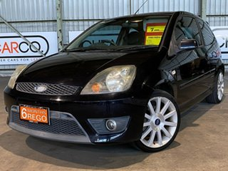 2008 Ford Fiesta WQ XR4 Black 5 Speed Manual Hatchback.