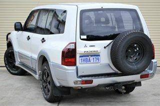 2004 Mitsubishi Pajero NP MY04 GLS White 5 Speed Sports Automatic Wagon