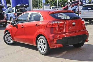 2015 Kia Rio UB MY15 S Red 6 Speed Manual Hatchback.