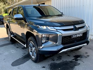2020 Mitsubishi Triton MR MY20 GLS Double Cab Premium Grey 6 Speed Sports Automatic Utility.