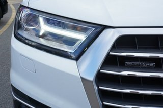 2016 Audi Q7 4M MY17 TDI Tiptronic Quattro White 8 Speed Sports Automatic Wagon