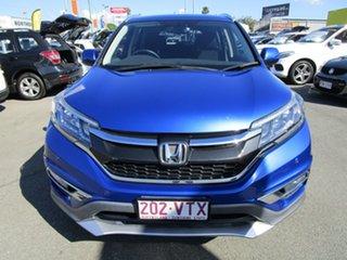 2015 Honda CR-V RM Series II MY16 VTi-S Blue 5 Speed Sports Automatic Wagon
