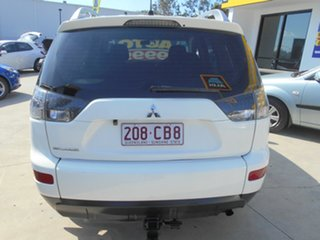 2008 Mitsubishi Outlander ZG MY08 LS White 6 Speed Constant Variable Wagon