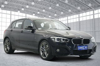 2017 BMW 1 Series F20 LCI 125i M Sport Black 8 Speed Sports Automatic Hatchback.