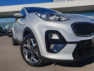 2020 Kia Sportage QL MY20 SX AWD Silver 8 Speed Sports Automatic Wagon.