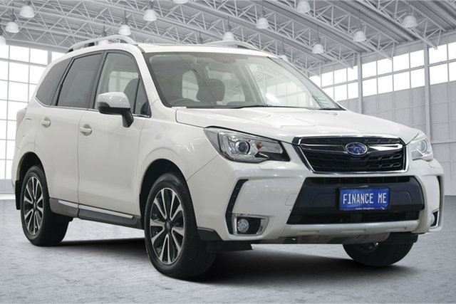 Used Subaru Forester S4 MY17 XT CVT AWD Premium Victoria Park, 2017 Subaru Forester S4 MY17 XT CVT AWD Premium White 8 Speed Constant Variable Wagon