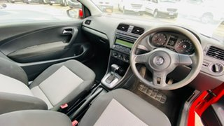 2010 Volkswagen Polo 6R MY11 Trendline DSG Red 7 Speed Sports Automatic Dual Clutch Hatchback