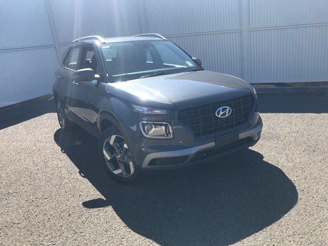 New Hyundai Venue QX.V3 MY21 Active Gladstone, 2021 Hyundai Venue QX.V3 MY21 Active Grey 6 Speed Automatic Wagon