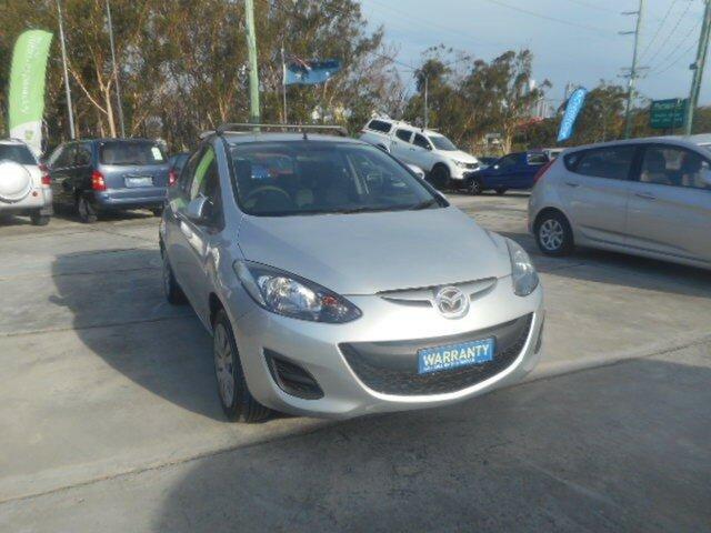 Used Mazda 2 DE MY13 Maxx Southport, 2012 Mazda 2 DE MY13 Maxx 4 Speed Automatic Hatchback