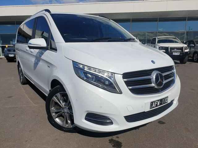 Used Mercedes-Benz V-Class 447 V250 d 7G-Tronic + Avantgarde Essendon Fields, 2015 Mercedes-Benz V-Class 447 V250 d 7G-Tronic + Avantgarde White 7 Speed Sports Automatic Wagon