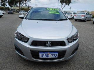 2012 Holden Barina TM Silver 6 Speed Automatic Sedan.