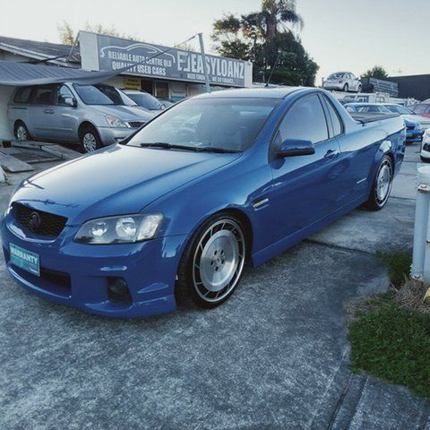 Used Holden Commodore VE II MY12 SV6 Southport, 2011 Holden Commodore VE II MY12 SV6 6 Speed Manual Utility