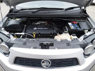 2012 Holden Barina TM Silver 6 Speed Automatic Sedan