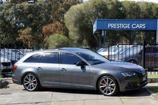 2018 Audi A4 B9 8W MY18 Black Edition Avant S Tronic Quattro Grey 7 Speed.
