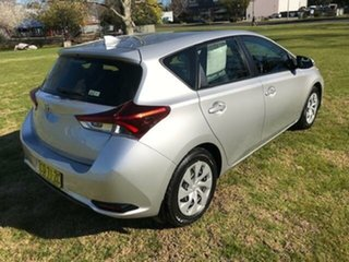 2018 Toyota Corolla ZRE182R MY17 Ascent Silver Pearl 7 Speed CVT Auto Sequential Hatchback
