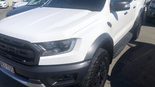 2019 Ford Ranger PX MkIII 2019.00MY Raptor Arctic White 10 Speed Sports Automatic Double Cab Pick Up.