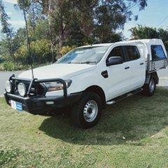 2015 Ford Ranger PX MkII XL 2.2 Hi-Rider (4x2) 6 Speed Automatic Crew Cab Pickup