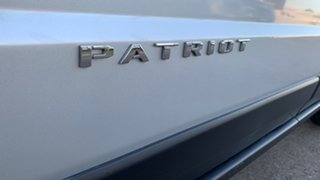 2012 Jeep Patriot MK MY11 Limited Silver 6 Speed CVT Auto Sequential Wagon