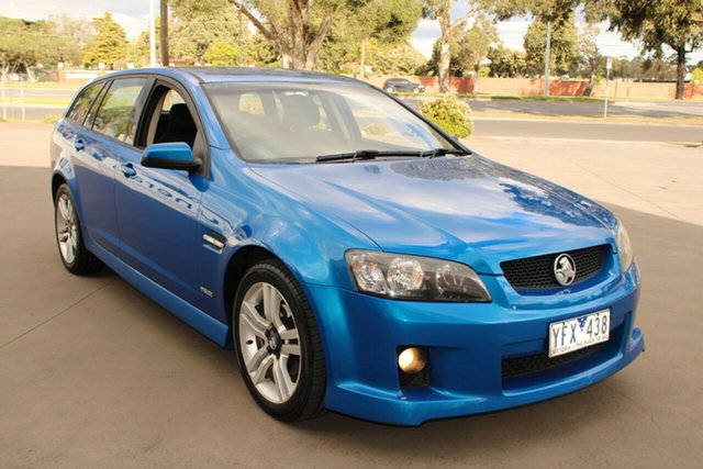 Used Holden Commodore VE MY10 SV6 West Footscray, 2009 Holden Commodore VE MY10 SV6 Blue 6 Speed Automatic Sportswagon