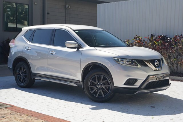 Used Nissan X-Trail T32 ST-L X-tronic 4WD N-SPORT Black Cairns, 2016 Nissan X-Trail T32 ST-L X-tronic 4WD N-SPORT Black Silver 7 Speed Constant Variable Wagon