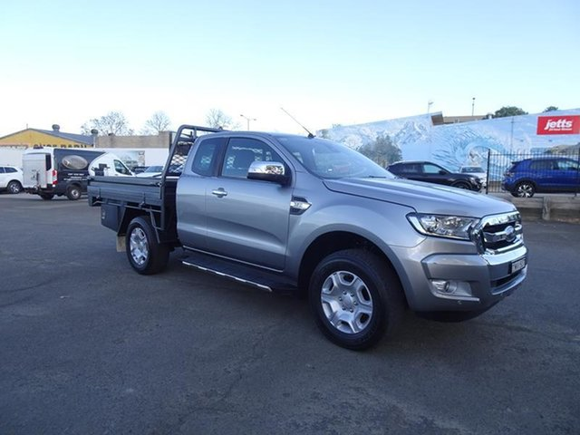 Used Ford Ranger PX MkII 2018.00MY XLT Super Cab Nowra, 2018 Ford Ranger PX MkII 2018.00MY XLT Super Cab Aluminium 6 Speed Automatic Utility