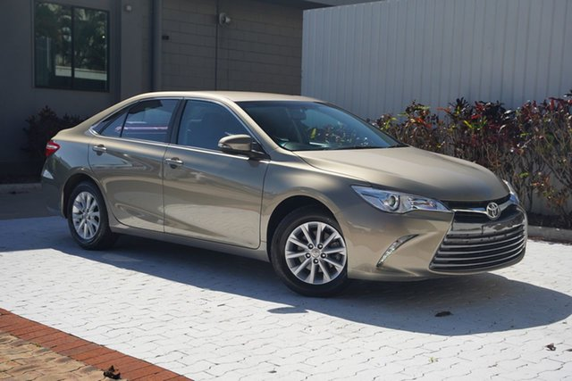 Used Toyota Camry ASV50R Altise Cairns, 2016 Toyota Camry ASV50R Altise Beige 6 Speed Sports Automatic Sedan