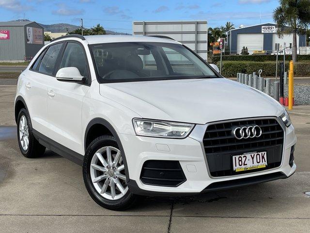 Used Audi Q3 8U MY18 TFSI S Tronic Townsville, 2018 Audi Q3 8U MY18 TFSI S Tronic White/281118 6 Speed Sports Automatic Dual Clutch Wagon