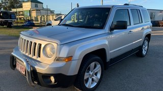 2012 Jeep Patriot MK MY11 Limited Silver 6 Speed CVT Auto Sequential Wagon.