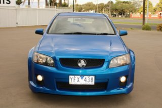 2009 Holden Commodore VE MY10 SV6 Blue 6 Speed Automatic Sportswagon.