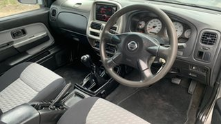 2005 Nissan Navara D22 ST-R (4x4) Silver 5 Speed Manual Dual Cab Pick-up