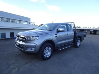2018 Ford Ranger PX MkII 2018.00MY XLT Super Cab Aluminium 6 Speed Automatic Utility.