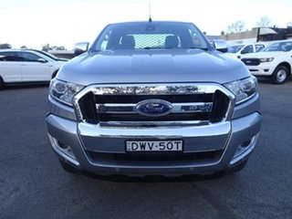 2018 Ford Ranger PX MkII 2018.00MY XLT Super Cab Aluminium 6 Speed Automatic Utility