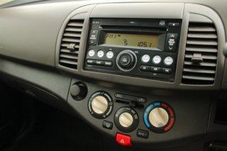 2008 Nissan Micra K12 Burgundy 4 Speed Automatic Hatchback