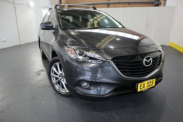 Used Mazda CX-9 TB10A5 Grand Touring Activematic AWD Castle Hill, 2014 Mazda CX-9 TB10A5 Grand Touring Activematic AWD Black 6 Speed Sports Automatic Wagon