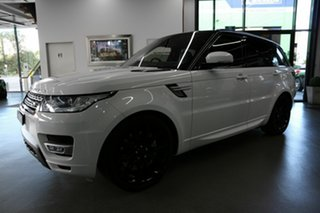 2017 Land Rover Range Rover Sport L494 17MY SDV8 HSE Dynamic White 8 Speed Sports Automatic Wagon