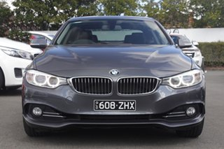 2014 BMW 4 Series F32 420i Luxury Line Grey 8 Speed Sports Automatic Coupe.