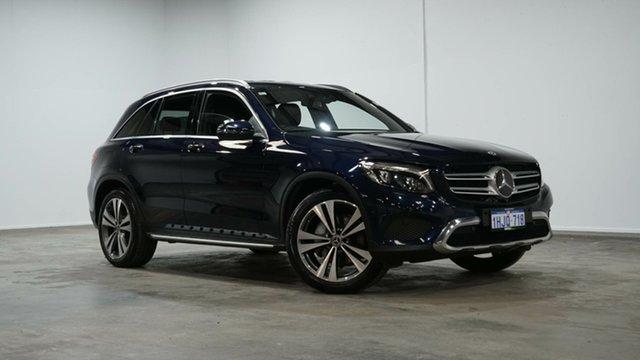 Used Mercedes-Benz GLC-Class X253 807MY GLC250 9G-Tronic 4MATIC Welshpool, 2017 Mercedes-Benz GLC-Class X253 807MY GLC250 9G-Tronic 4MATIC Cavansite Blue 9 Speed