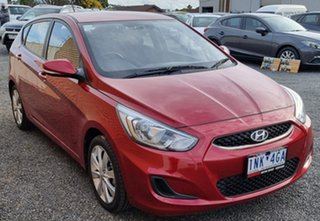 2018 Hyundai Accent RB6 MY19 Sport Red 6 Speed Sports Automatic Hatchback