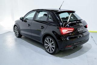 2015 Audi A1 8X MY15 Sport Sportback S Tronic Black/Grey 7 Speed Sports Automatic Dual Clutch