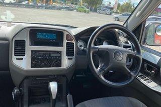 2005 Mitsubishi Pajero NP GLS LWB (4x4) White 5 Speed Auto Sports Mode Wagon