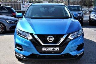 2019 Nissan Qashqai J11 Series 3 MY20 ST-L X-tronic Vivid Blue 1 Speed Constant Variable Wagon.