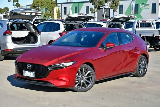 Used Mazda 3 BP2HLA G25 SKYACTIV-Drive GT Pakenham, 2020 Mazda 3 BP2HLA G25 SKYACTIV-Drive GT Red 6 Speed Sports Automatic Hatchback