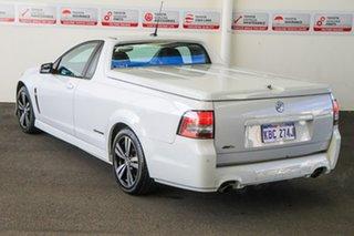 2014 Holden Ute VF SV6 Storm White 6 Speed Manual Utility.