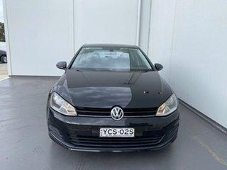 2014 Volkswagen Golf VII MY15 90TSI DSG Comfortline Black 7 Speed Sports Automatic Dual Clutch.