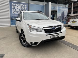 2013 Subaru Forester MY13 2.5I-S White Continuous Variable Wagon.