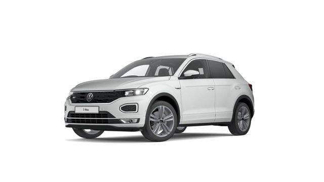 Demo Volkswagen T-ROC A1 MY21 140TSI DSG 4MOTION Sport Cardiff, 2021 Volkswagen T-ROC A1 MY21 140TSI DSG 4MOTION Sport Pure White 7 Speed