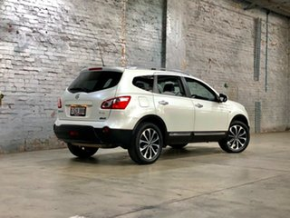 2013 Nissan Dualis J107 Series 4 MY13 +2 Hatch X-tronic 2WD Ti-L White 6 Speed Constant Variable