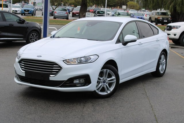Used Ford Mondeo MD 2019.5MY Ambiente Midland, 2019 Ford Mondeo MD 2019.5MY Ambiente White 6 Speed Sports Automatic Dual Clutch Hatchback